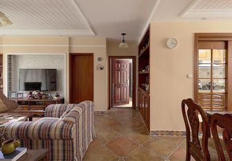 130平米三室两厅田园风格走廊图