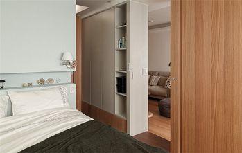 90平米三室一厅日式风格卧室效果图