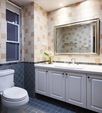 130平米三室一厅美式风格卫生间效果图
