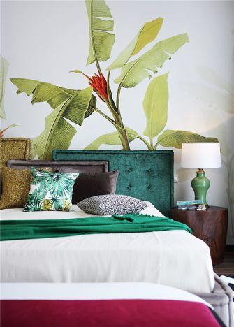 70平米东南亚风格卧室欣赏图