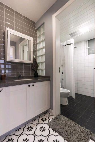 80平米北欧风格卫生间装修图片大全