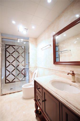 富裕型120平米三室两厅欧式风格卫生间设计图