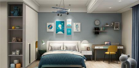 140平米三室两厅混搭风格儿童房图片大全