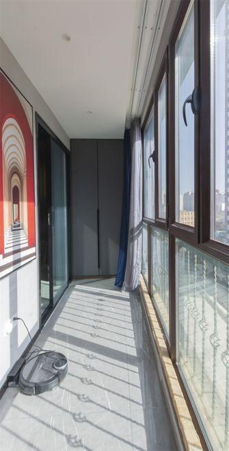 100平米混搭风格阳台图片大全
