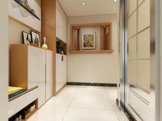 90平米三室一厅日式风格玄关图片