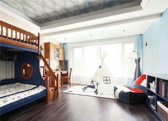 120平米三室两厅地中海风格儿童房装修图片大全