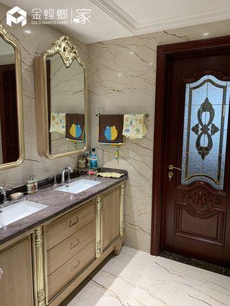 豪华型140平米四室两厅新古典风格卫生间装修案例