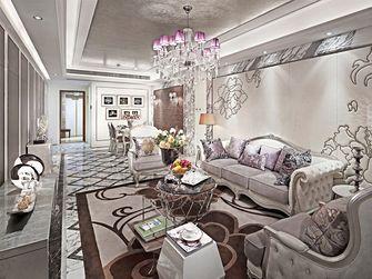 70平米一室两厅欧式风格客厅装修案例