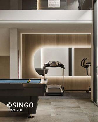 140平米四室两厅现代简约风格健身室图