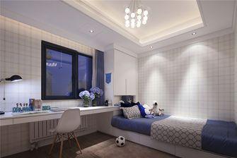 100平米三室两厅现代简约风格儿童房设计图