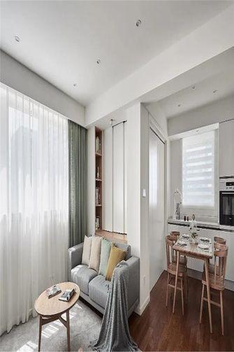 110平米三室两厅日式风格书房设计图