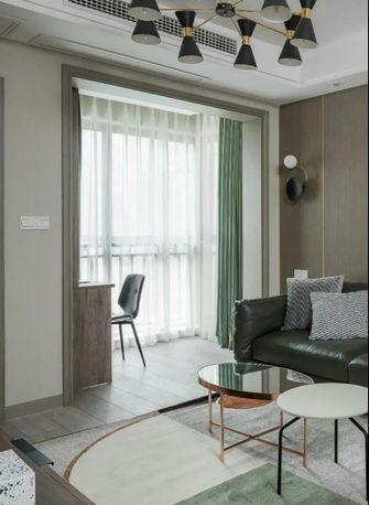 90平米四室两厅现代简约风格阳台图片大全