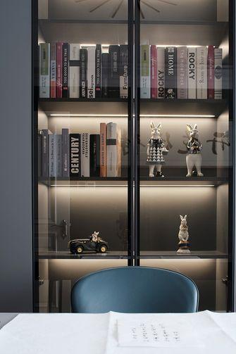 100平米三室两厅现代简约风格书房装修效果图
