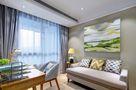 80平米北欧风格客厅飘窗装修案例