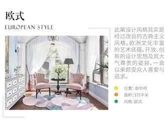 豪华型140平米四室三厅欧式风格客厅效果图