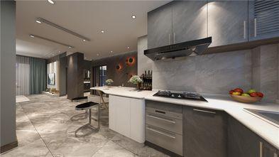 90平米三室两厅混搭风格厨房效果图