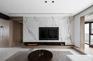 70平米混搭风格客厅装修效果图