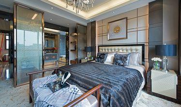 140平米别墅现代简约风格卧室背景墙装修效果图