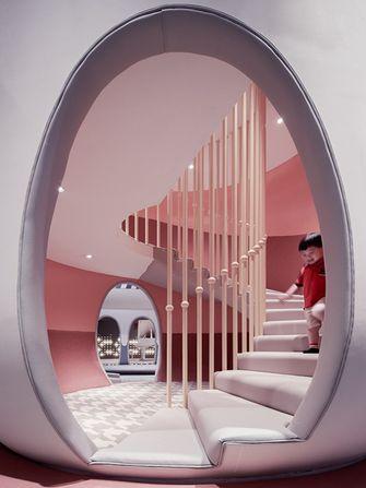 140平米混搭风格楼梯间装修图片大全