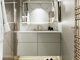 140平米四室兩廳現代簡約風格衛生間裝修效果圖