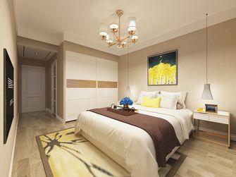 90平米三室一厅北欧风格卧室图片