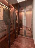 140平米四室一厅中式风格衣帽间图
