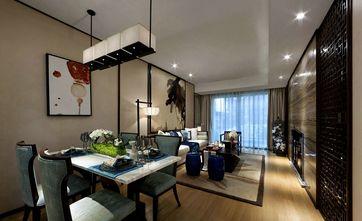 110平米三室一厅东南亚风格客厅图