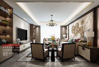 140平米四室四厅中式风格客厅图