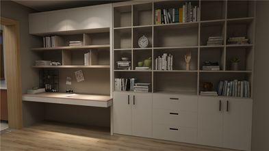 70平米三室一厅北欧风格书房设计图