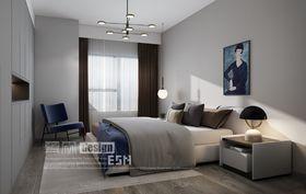 140平米三室兩廳現代簡約風格臥室設計圖