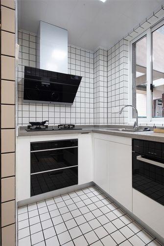 80平米三室一厅北欧风格厨房图