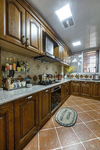 140平米四室两厅地中海风格厨房图片大全
