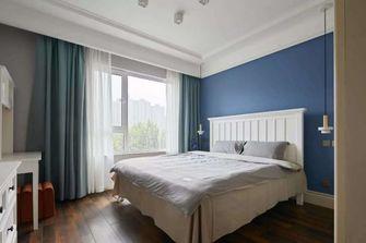 110平米三室一厅混搭风格卧室图片