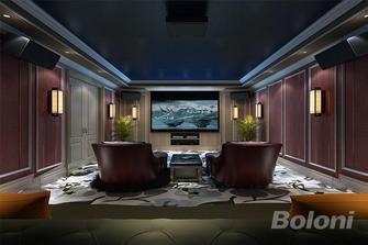 140平米四室三厅法式风格影音室装修图片大全