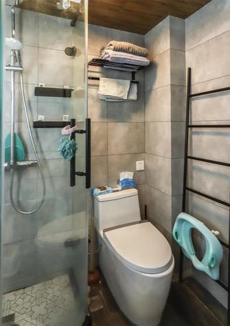 60平米一居室田园风格卫生间装修案例