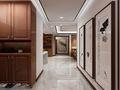 130平米公寓中式风格走廊图