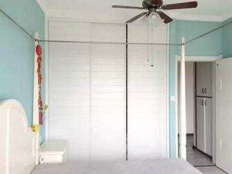 60平米一室一厅田园风格卧室设计图