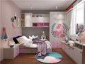 140平米三地中海风格儿童房装修效果图