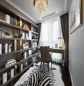 130平米四室一厅欧式风格书房装修图片大全
