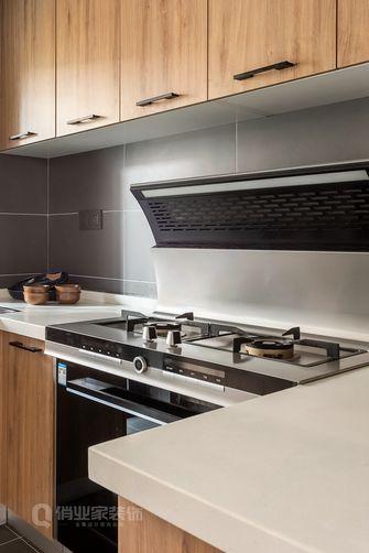 120平米四室两厅日式风格厨房设计图
