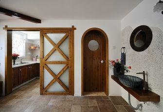 130平米四室两厅田园风格厨房图