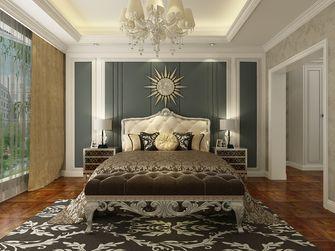 140平米复式欧式风格卧室背景墙欣赏图