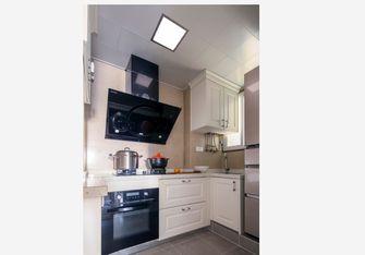 110平米三室两厅美式风格厨房效果图