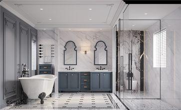 140平米别墅美式风格卫生间欣赏图
