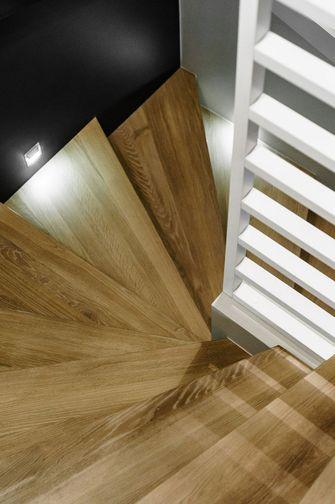 5-10万110平米三室两厅北欧风格楼梯图片
