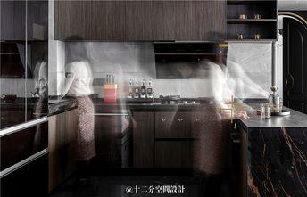 130平米三室两厅法式风格厨房设计图