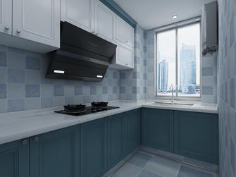 110平米三室两厅地中海风格厨房装修案例