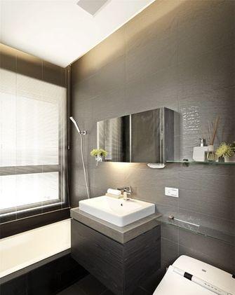 100平米现代简约风格卫生间欣赏图