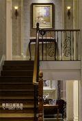 豪华型140平米别墅新古典风格楼梯装修效果图