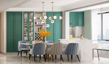 140平米四室一厅混搭风格餐厅图片
